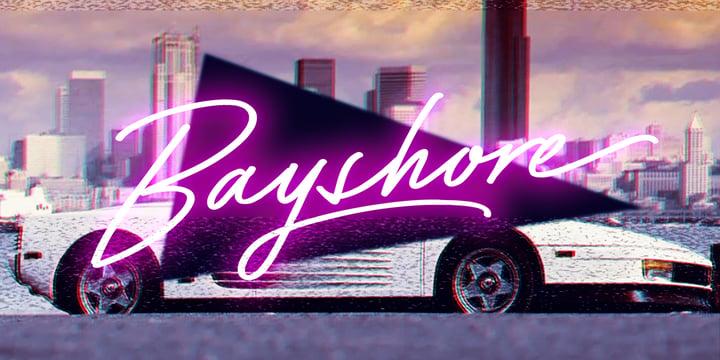 winter brand personality font: BABYSHORE