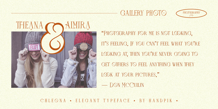 Download Chleona Fonts Family From Handpik