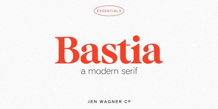 Bastia font