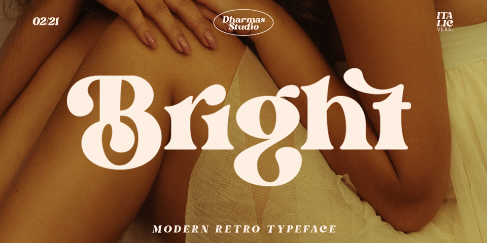 Bright font page
