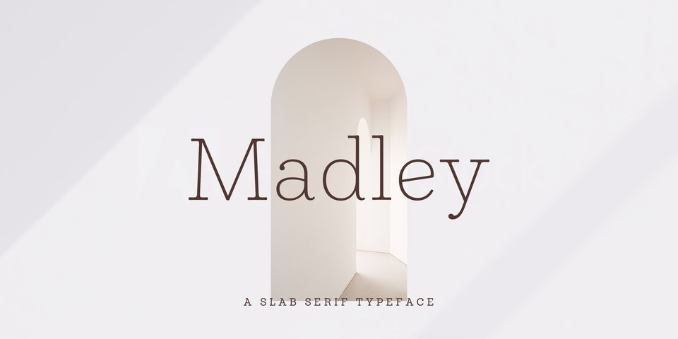 Madley font page