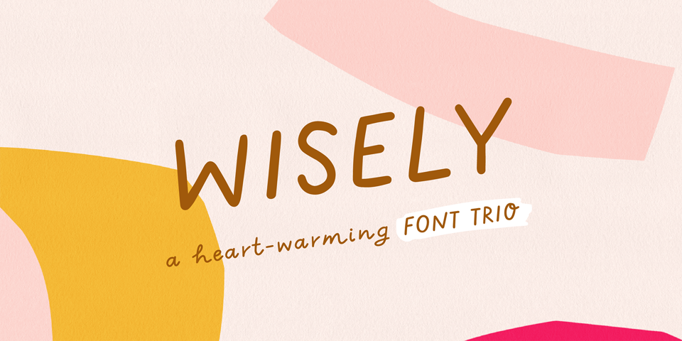 Wisely font page