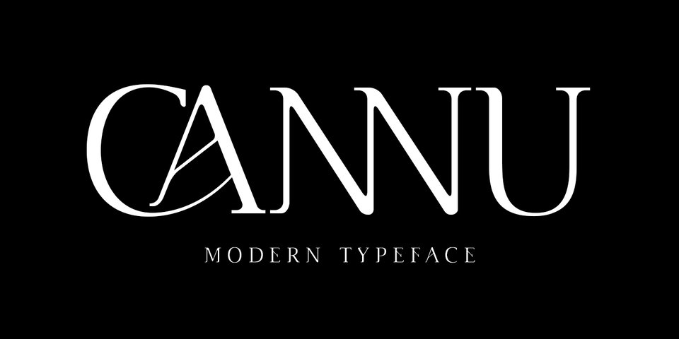 Cannu font page