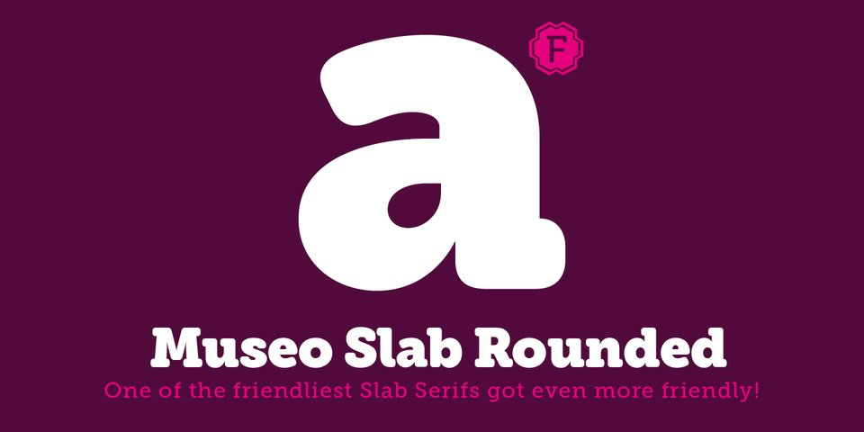 Museo Slab Rounded font page