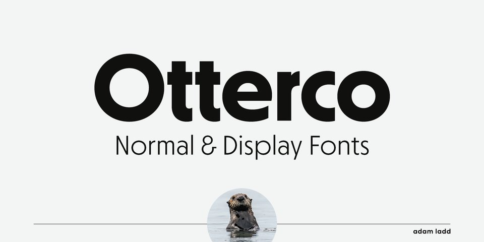Otterco font page