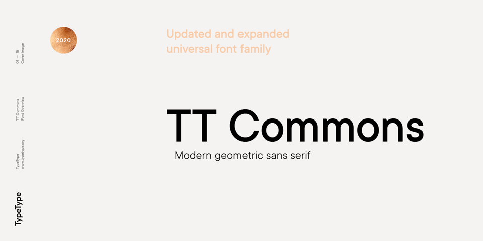 TT Commons Classic font page