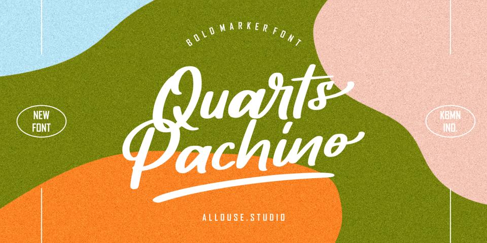 Quarts Pachino font page