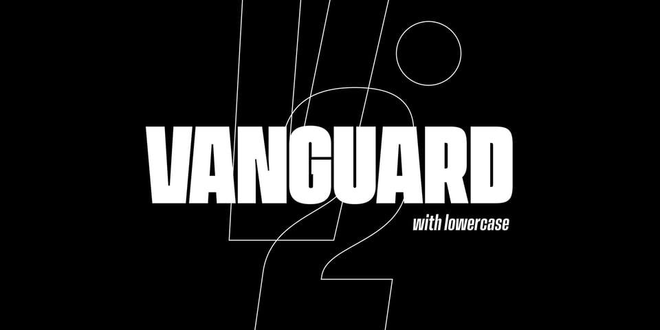 Vanguard CF font page