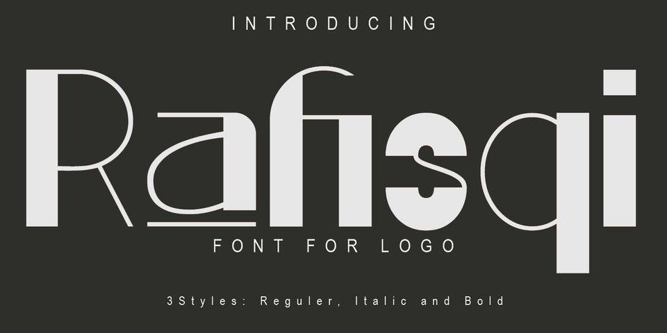 Rafisqi font page