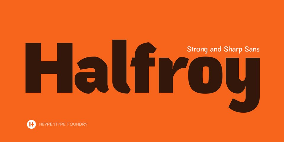 Halfroy font page
