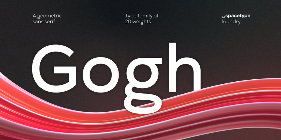Gogh font page