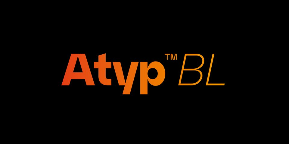 Atyp BL font page