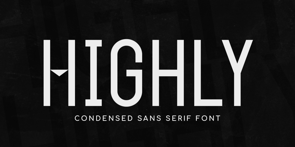 Highly font page
