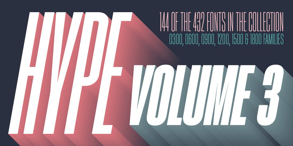 Hype vol 3 font page