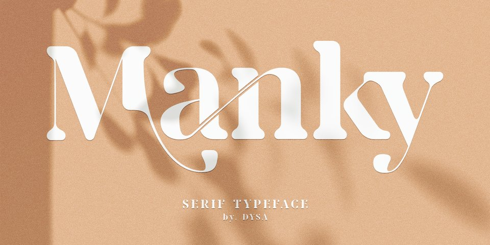 Manky font page