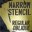 Narrow Stencil JNL