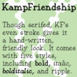 KampFriendship™