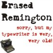 Erased Remington