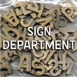 Sign Department JNL