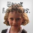 Children Block Letters