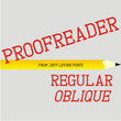 Proofreader JNL