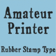 Amateur Printer JNL