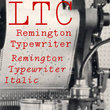 LTC Remington Typewriter™
