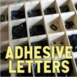 Adhesive Letters JNL