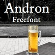 Andron Freefont™