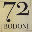 ITC Bodoni Seventy-Two Std™