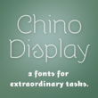 ITC Chino Display™