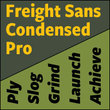 Freight Sans Condensed Pro™