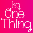 KG One Thing