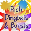 Rich Dingbats &  Bursts