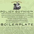 Policy Gothic