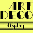 P22 Art Deco Display