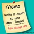 JWX Memo