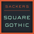 Sackers Square Gothic™