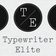 Typewriter Elite