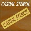 Casual Stencil JNL