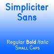 Simpliciter Sans