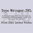 Type Wronger JNL