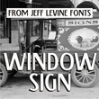 Window Sign JNL