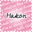 Hakon Handwriting