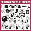 Printing Press Elements JNL