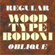 Wood Type Bodoni JNL