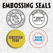 Embossing Seals JNL