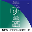 New Lincoln Gothic BT