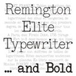 Remington Elite Typewriter