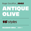 Antique Olive